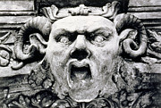 Tor Photo Framed Prints - Gargoyle Framed Print by Simon Marsden
