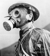 Gas Mask Posters - Gas Masks Poster by Science Source