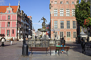 Neptune Photo Prints - Gdansk Old Town Print by Artur Bogacki