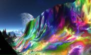 Gemstone Art - Gemstone Mountain 2 by Heinz Mielke