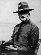 Pershing Photos - General John J. Pershing 1860-1948 by Everett