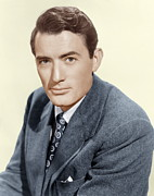 Films By Elia Kazan Prints - Gentlemans Agreement, Gregory Peck Print by Everett