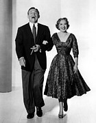 Gracie Prints - George Burns And Gracie Allen Show Print by Everett