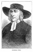 Quaker Art - George Fox (1624-1691) by Granger