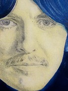George Harrison Drawings - George Harrison by Kean Butterfield