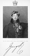 Autograph Framed Prints - George Iv (1762-1830) Framed Print by Granger