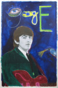 Rock And Roll Painting Originals - George by Mike  Mitch