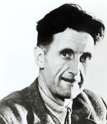 Author Metal Prints - George Orwell, Circa 1949 Metal Print by Everett