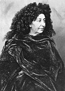 1876 Prints - George Sand, French Author And Feminist Print by Photo Researchers