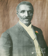 George W. Carver, African-american Print by Science Source