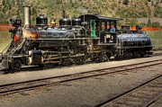 Narrow Gauge Photos - Georgetown Loop Train by David Bearden