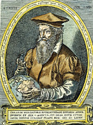 Cartographer Framed Prints - Gerardus Mercator Framed Print by Granger