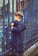 Titled Art Slide Show - German Boy by Chuck Staley