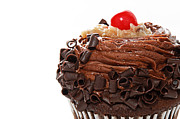 Frosting Prints - German Chocolate Cupcake 2 Print by Andee Photography