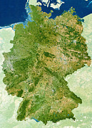 Jylland Prints - Germany Print by Planetobserver