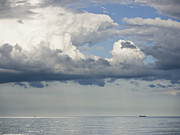 Y120831 Art - Germany, View Of Cloudy Sky Over Baltic Sea At Rugen Island by Westend61