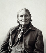 Qed Art - Geronimo (1829-1909) by Granger