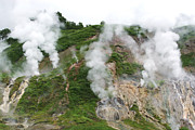 Geyser Prints - Geyser Valley, Kamchatka Print by Ria Novosti