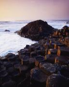 Geometric Shapes Posters - Giants Causeway, Co Antrim, Ireland Poster by The Irish Image Collection