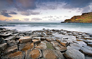 Causeway Coast Posters - Giants Causeway Poster by Pawel Klarecki