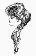 Question Mark Framed Prints - Gibson Girl, 1903 Framed Print by Granger