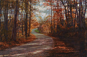 Gibson Mixed Media - Gibson Ridge Road by Bob Senesac