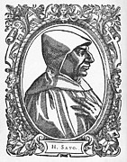 1400s Prints - Girolamo Savonarola, Italian Priest Print by Middle Temple Library