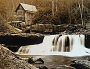 Mill Photographs Posters - Glade Creek Grist Mill Poster by Jack Paolini
