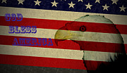God Bless America Prints - God Bless America Print by Bill Cannon