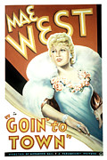 Goin Prints - Goin To Town, Mae West, 1935 Print by Everett