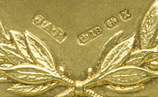 Hallmark Photos - Gold Hallmarks, 1897 by Sheila Terry
