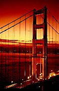 Golden Gate Bridge Print by Gene Sizemore