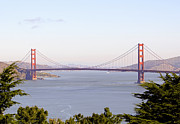 The Golden Gate Prints - GOLDEN GATE BRIDGE in SAN FRANCISCO Print by Daniel Hagerman