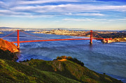 Alcatraz Prints - Golden Gate Sunset 1. Print by Laszlo Rekasi