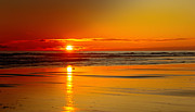 Golden Sunset Print by Robert Bales