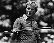 1980s Framed Prints - Golf Pro Jack Nicklaus, August, 1984 Framed Print by Everett