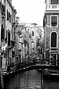 Canals Framed Prints - Gondola Ride in Venice Framed Print by Greg Sharpe