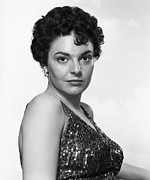 Bare Shoulder Prints - Gorilla At Large, Anne Bancroft, 1954 Print by Everett