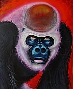 Ape Mixed Media - Gorilla by Joshua South