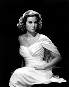 Strapless Dress Photo Posters - Grace Kelly, 1954 Poster by Everett