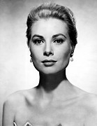 Kelly Acrylic Prints - Grace Kelly, 1955 Acrylic Print by Everett