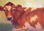 Calf Pastels - Grace Redux by Susan Williamson