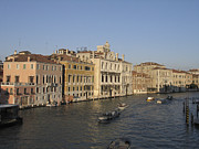 Grande Canal Framed Prints - Grand canal. Venice Framed Print by Bernard Jaubert