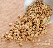 Granola Posters - Granola Poster by Photo Researchers, Inc.