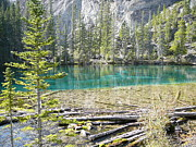 Mark Lehar Prints - Grassi Lakes Print by Mark Lehar