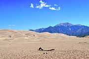 Sand Dunes National Park Prints - Great Sand Dunes National Park Print by Louise Heusinkveld