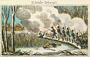 Kingston Prints - Great Swamp Fight, 1675 Print by Granger