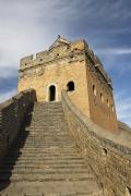 Blue Brick Prints - Great Wall of China - Jinshanling Print by Gloria & Richard Maschmeyer - Printscapes