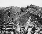 1901 Prints - Great Wall Of China, 1901 Print by Granger