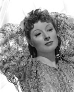 Colbw Prints - Greer Garson, 1939, Photo By Clarence Print by Everett